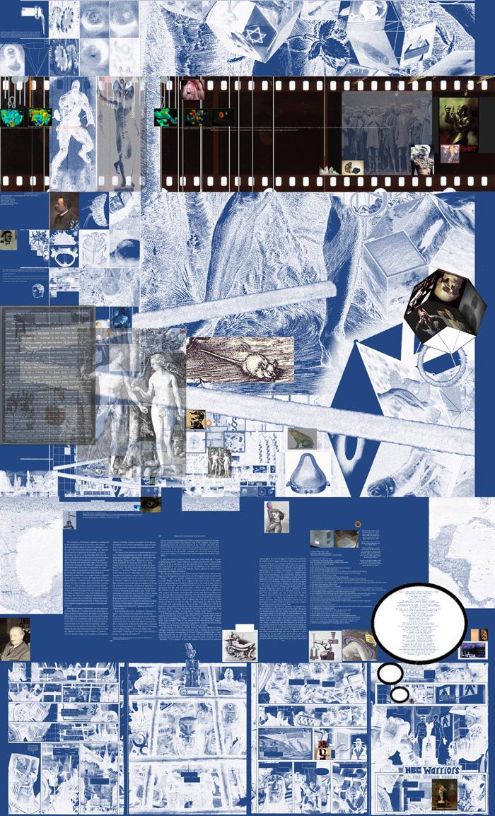 The image: Shem FW. 174 (blueprint)